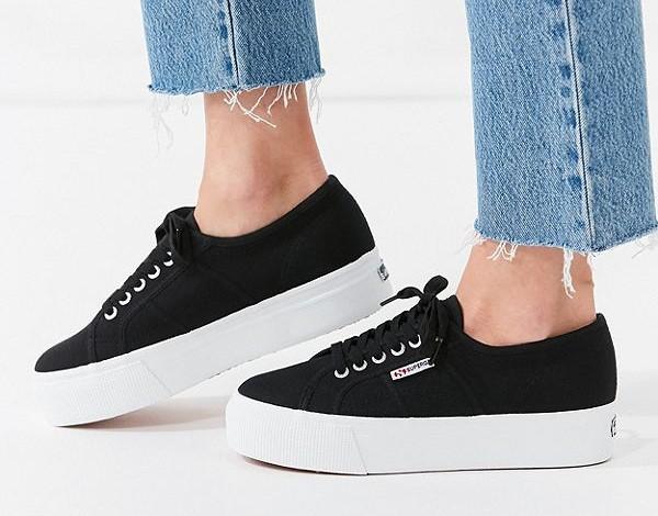 superga platform sneaker